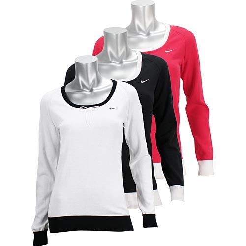 Nike Women\u0027s Classic Sweater Holiday 2009. Nike tennis apparel womens  sweater